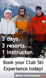 Book your Club Ski Experience today!
