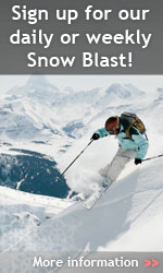 Sign up for our daily or weekly Snow Blast!